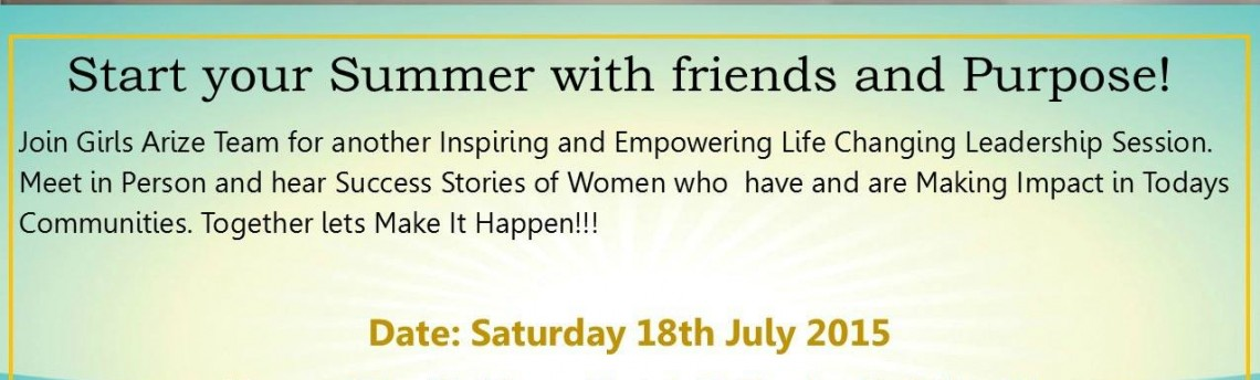 Breakforth Girls Arize Conference, 18th July 2015